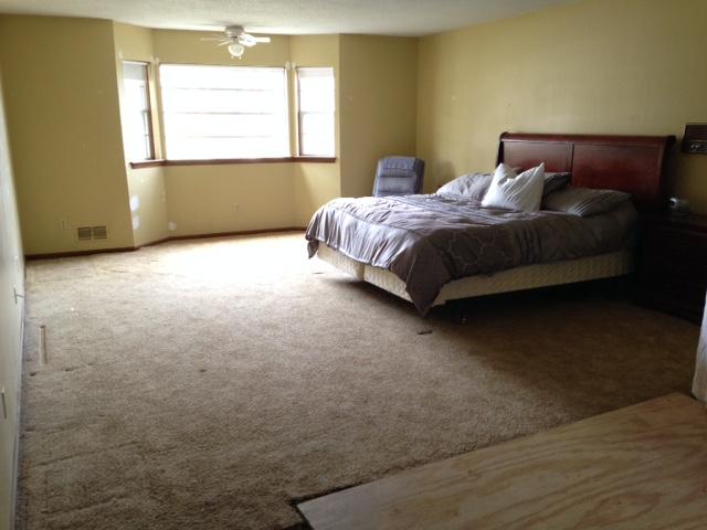 Master bedroom quiet